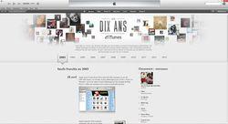 rétrospective iTunes Store