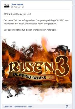 Risen 3 Blazing Oceans - Facebook