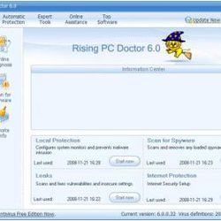 Rising PC Doctor screen2