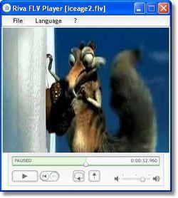 Riva FLV encoder screen2