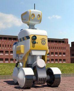 Robot gardien prison