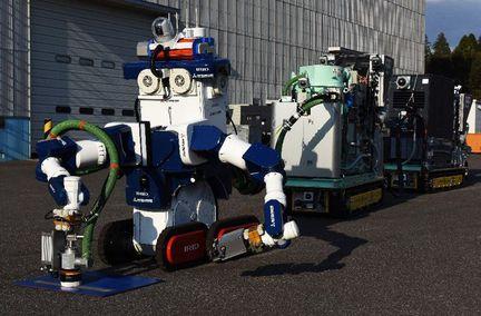Robots décontaminateurs Fukushima