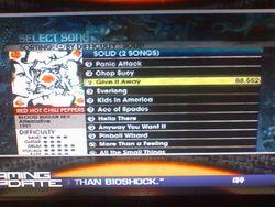 Rock Band 2   tracklist