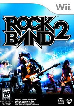 Rock Band 2 Wii   pochette