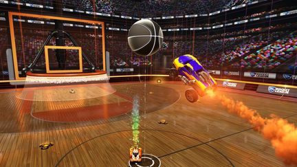 rocket league basket
