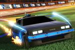 Rocket League - DeLorean