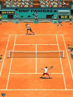 Roland Garros 2009 Gameloft 01