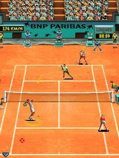 Roland Garros 2009 Gameloft 02