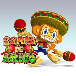 Samba de Amigo Wii   Artwork