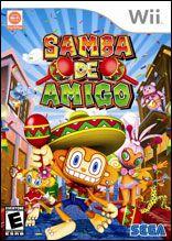 Samba de Amigo Wii   pochette