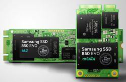 Samsung 850 EVO mSATA M2