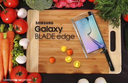 Samsung blade edge