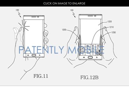 Samsung brevet controle smartphone