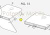 Samsung : le smartphone avec écran repliable se montre en croquis et en brevet