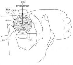 Samsung brevet smartwatch ronde