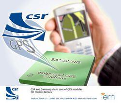 Samsung CSR GPS