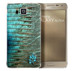 Samsung Galaxy Alpha cuir 1