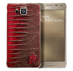 Samsung Galaxy Alpha cuir 2