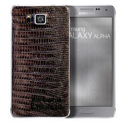 Samsung Galaxy Alpha cuir 3
