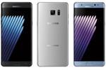 Samsung Galaxy Note 7 coloris.