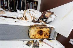 Samsung Galaxy S4 incendie 2