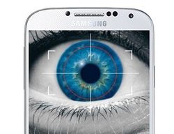 Samsung Galaxy S5 iris detection