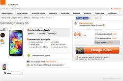 Samsung Galaxy S5 Orange