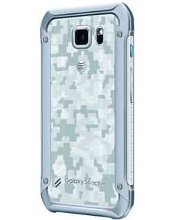 Samsung Galaxy S6 Active blanc dos