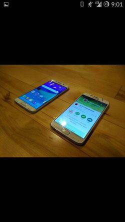 Samsung Galaxy S6 Edge face