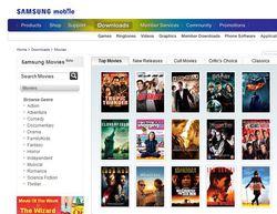 Samsung Movies Store