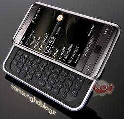 Samsung Omnia Pro photomontage