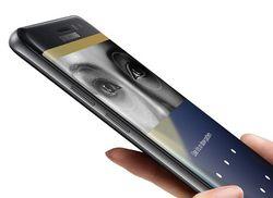 Samsung scanner iris