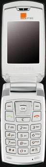 Samsung SGH P180 ouvert