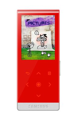Samsung yp 10 rouge