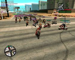 San Andreas Multiplayer screen1