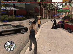 San Andreas Multiplayer screen2