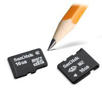 SanDisk microSDHC M2 16 Go