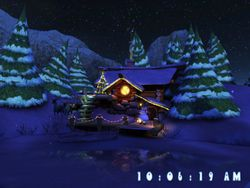Santas Home 3D