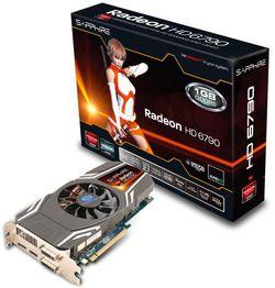 Sapphire Radeon HD 6790 boîte