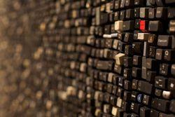 Sarah Frost mosaïque claviers PC 1