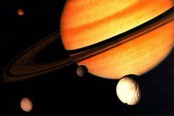 Saturne et ses lunes