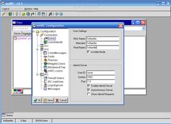 savIRC screen 1