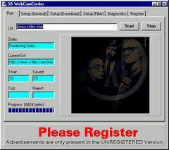 SBWebCamCorder screen1