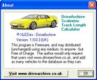 Scalextric Track Length Calculator : mesurer un circuit de petites voitures
