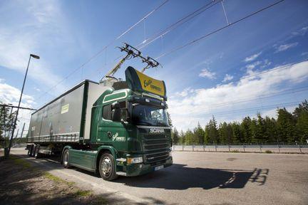 Scania route électrique