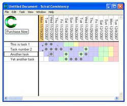 Sciral Consistency screen1