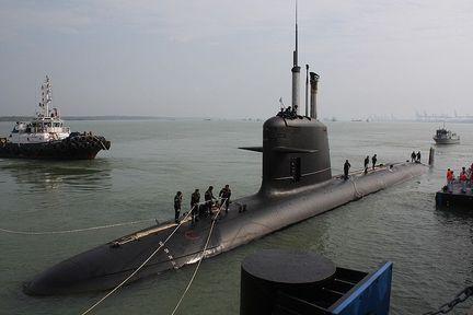 Scorpene sous-marin