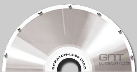 Scratch less disc