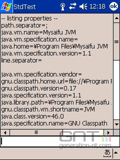 Screen mysaifu jvm