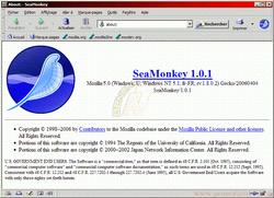 SeaMonkey 1.1.1 pour Linux (635x460)